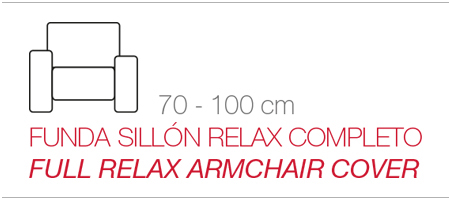 funda sillón relax completo