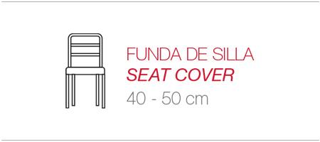 funda para asiento sillas
