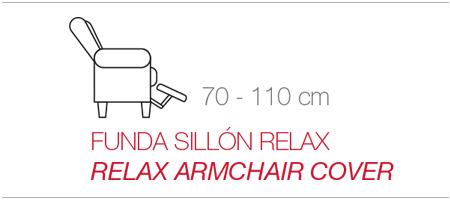 funda para sillón relax tipo orejero