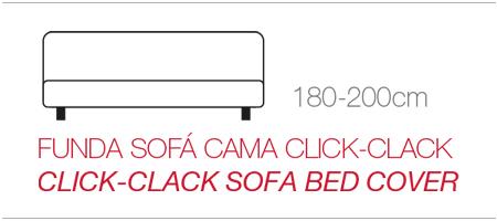 Fundas para sofás Click Clack