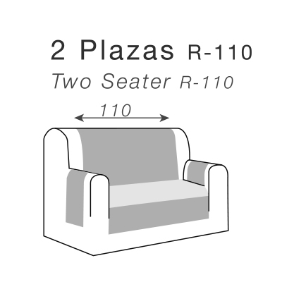 Medidas cubre sofás sofás de 2 plazas