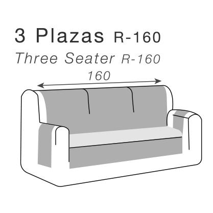 Medidas cubre sofás para sofás de 3 plazas