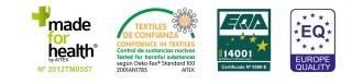 Certificados de los tejidos de Textils Mora