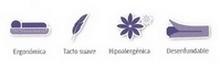 Características de las almohadas de fibra