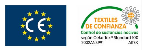 Sello de textiles de confianza y fabricados en Europa